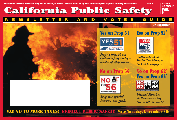 CA Public Voter Safety Guide